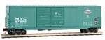 182 00 020 Micro-Trains 50' Double Door Box Car - New York Central 87590
