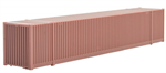 469 00 002 53' Undecorated Container - Brown - N Scale