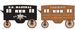 MicroTrains 470 00 239 US Marshall & Sheriff Wagon 2-Pack - N Scale