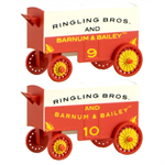 470 00 249 Ringling Bros.™ Wagon 9 &10 2-packs -