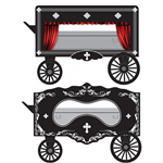 MicroTrians  470 00 289 N Scale Vintage Hearse Wagons