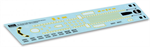 499 45 904 737 Fuselage Decals - N Scale