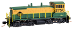 MicroTrains SW1500 Reading N