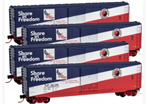 MicroTrains 993 00 106 50' Standard Box Car Runner Pack