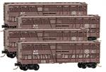 993 00 141 Missouri Pacific Dispatch Stock Car - Runner Pack 4 cars (N Scale)