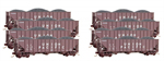 993 00 814 Ton 3-Bay Open Hoppers - Union Pacific 8-Pack - N Scale