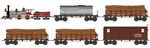 993 01 510 CWE Central Pacific Log Train Set - N Scale