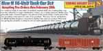 993 01 540 Tank Car Set - CTCX 16-Unit Tank Car Set