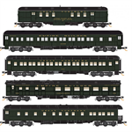 993 01 570 Heavyweight 5 car set - Great Northern