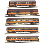 993 01 790 Illinois Central - Heavyweight 5 car set (N Scale)
