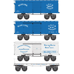993 01 800 Civil War Era - Blue Line 4-pack - N Scale