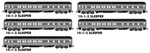 993 01 820 Union Pacific® Heavyweight 5-Pack - NScale