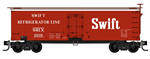 993 01 920 Swift Reefer Clean unweathered 16 car set - N Scale
