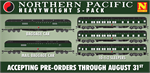 993 01 950 Northern Pacific - Heavyweight Passenger