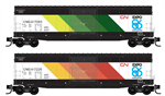 CN N Scale Expo 2 car set