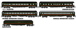 993 01 990 N de M Heavyweight Passenger Car Set 5 pack - N Scale MicroTrains