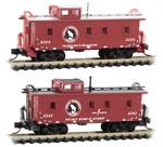 993 02 060 34' Wood Sheathed Caboose N