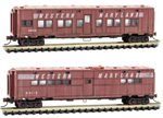 993 05 570 Weathered 50' Troop Kitchen & Sleeper Car Western Maryland - N Scale Micro-Trains