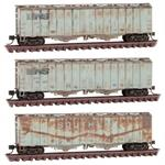 Covered Hoppers Weathered N Scale