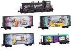 993 21 250 Alice in Wonderland Train Set