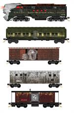 993 21 300 - Halloween Ghost 2018 Train Set N Scale