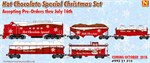 993 21 310 Hot Chocolate Christmas Set 2018 - Micro-Trains N Scale