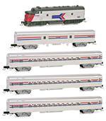 Amtrak Commuter Set Z