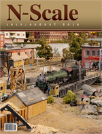 N Scale Magazine July-August 2018