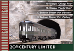 106-7130 New York Central 20th Century Limited 4 Car add on Passenger Set - N Scale
