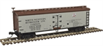 50003890 40' Wood Reefer - North Western Refrigerator Line 6126 (N Scale)