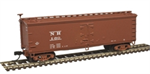 50003891 40' Wood Reefer - New Haven Ice Service 60 (N Scale)