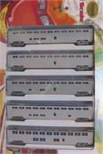 ConCor Superliners N Scale