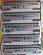 ConCor Superliner Phase 2 N Scale