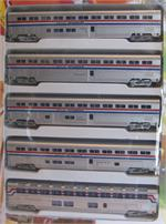 ConCor N Scale Superliner Phase 3 N Scale