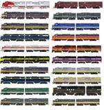IRC N Scale EMD FT A/B Sets